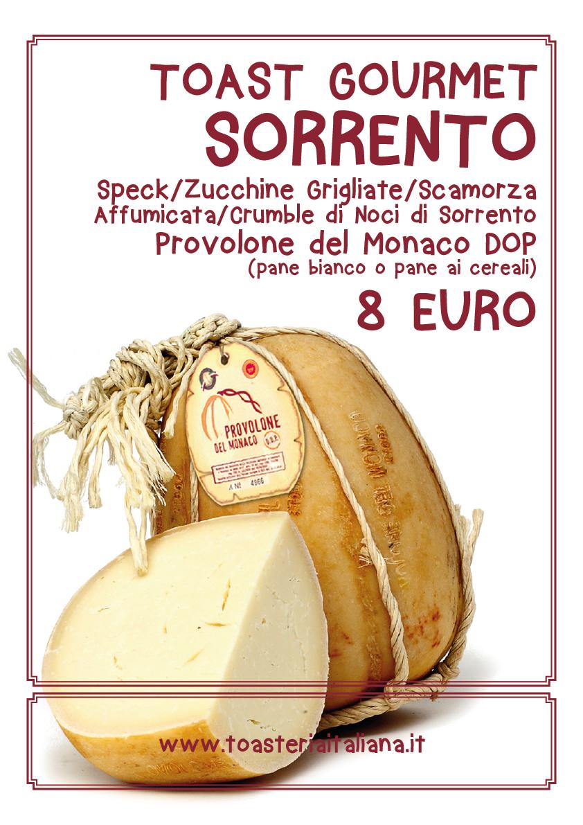 Toast Gourmet Sorrento Toasteria Italiana