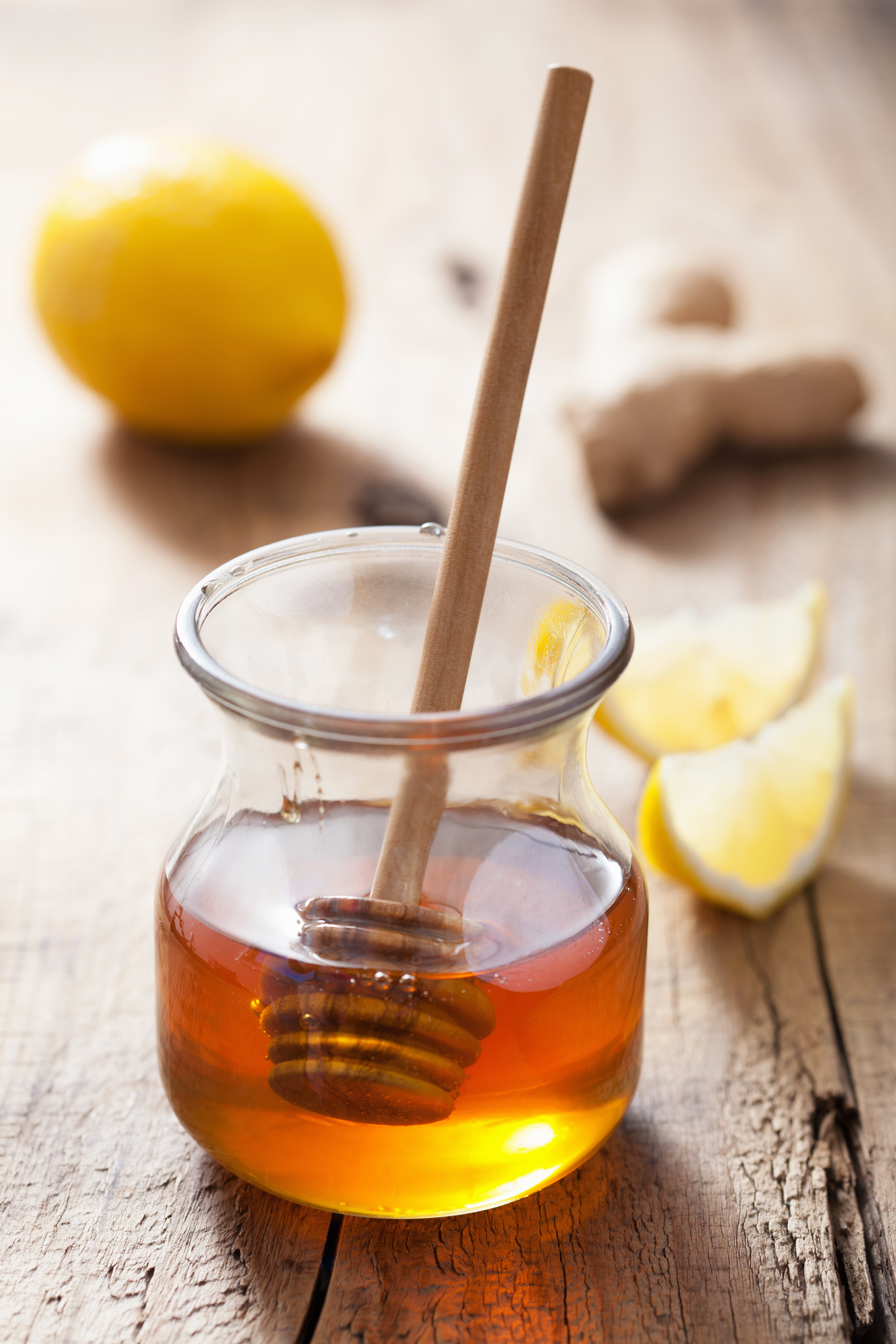 honey lemon and ginger