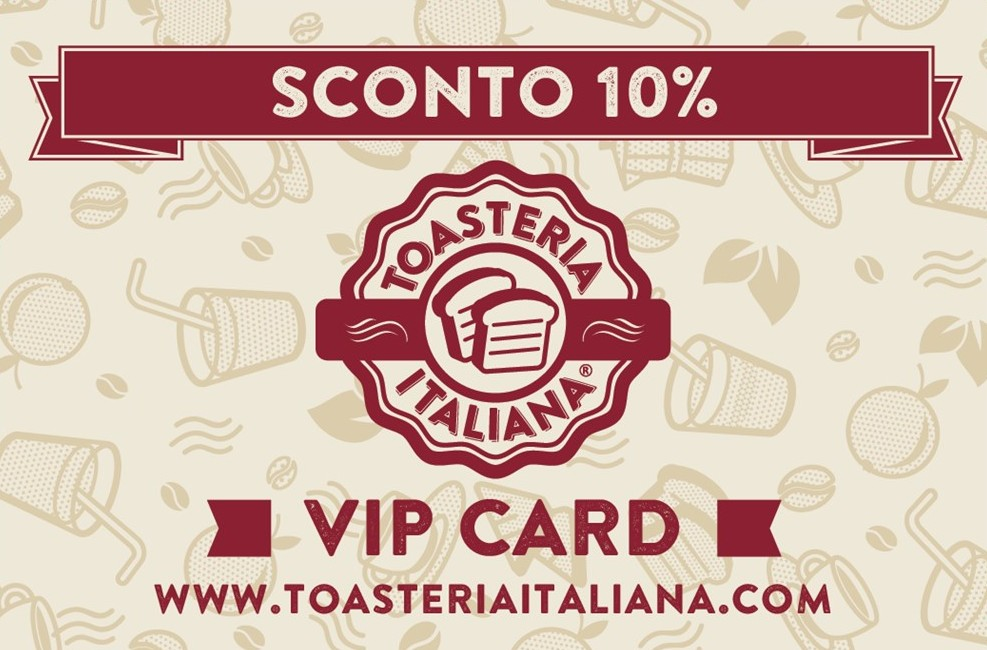 Toasteria Italiana VIP CARD