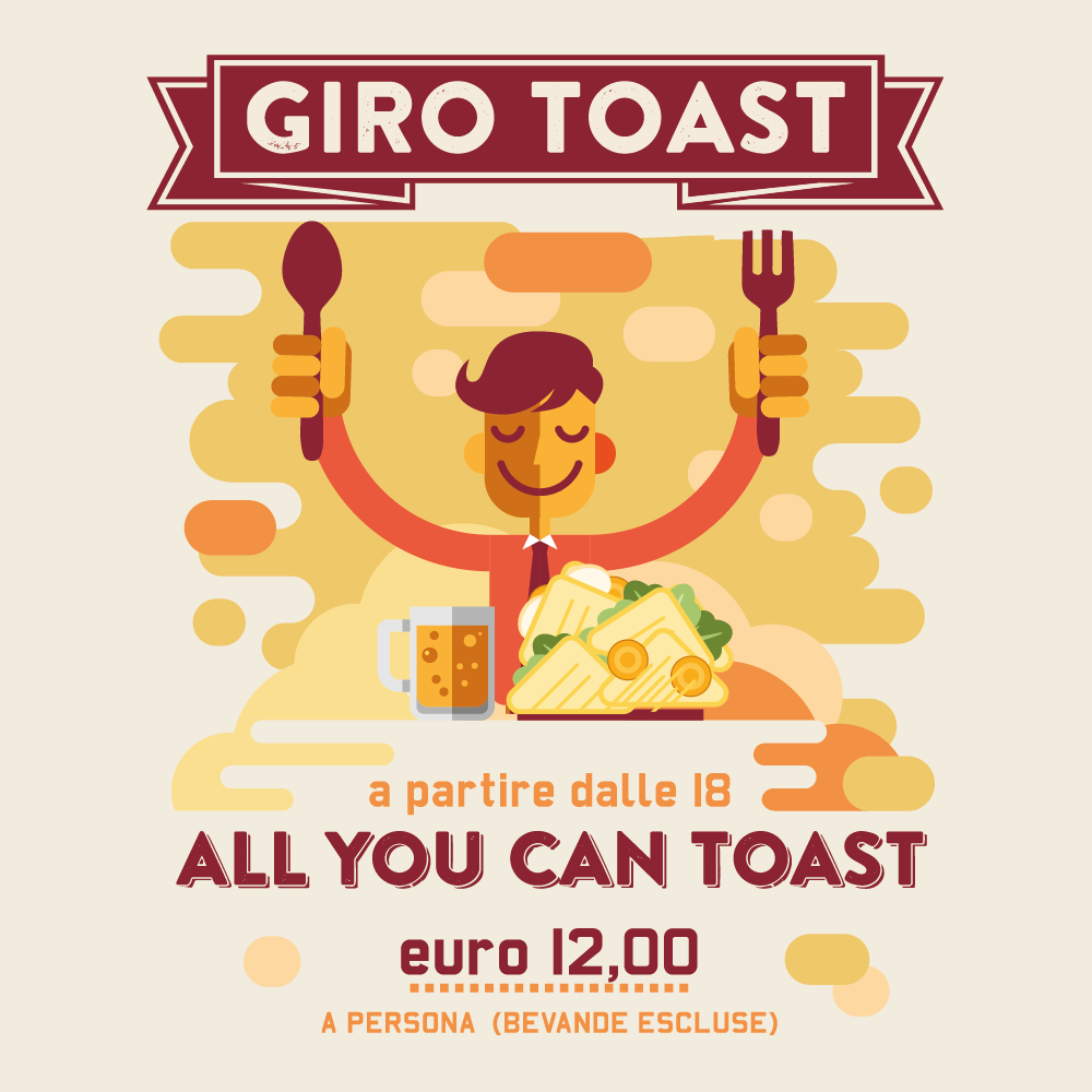 Giro Toast Toasteria Italiana AllYouCanToast