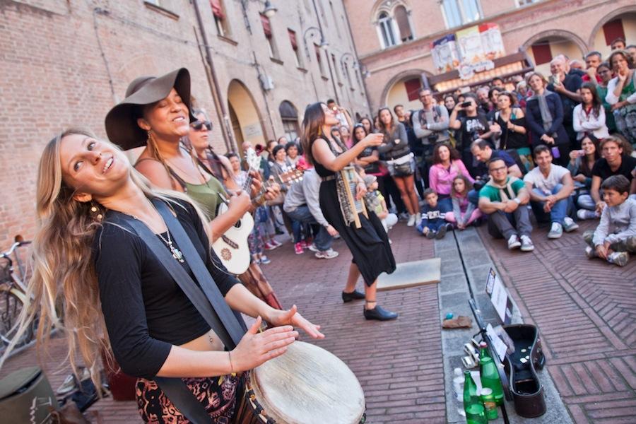 ferrara buskers festival - toasteria italiana 3