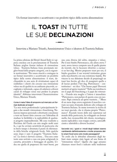 AZ Franchising - Intervista a Mariano Triunfo pg.25